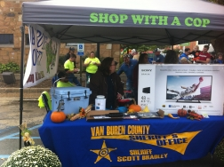 VBC Shop with a Cop at the Chili Cookoff