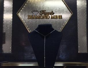 Faye's Diamond Mine silent auction