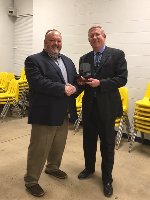 Steve Goode, Clinton Chamber of Commerce Business of the Year - Cash Savers